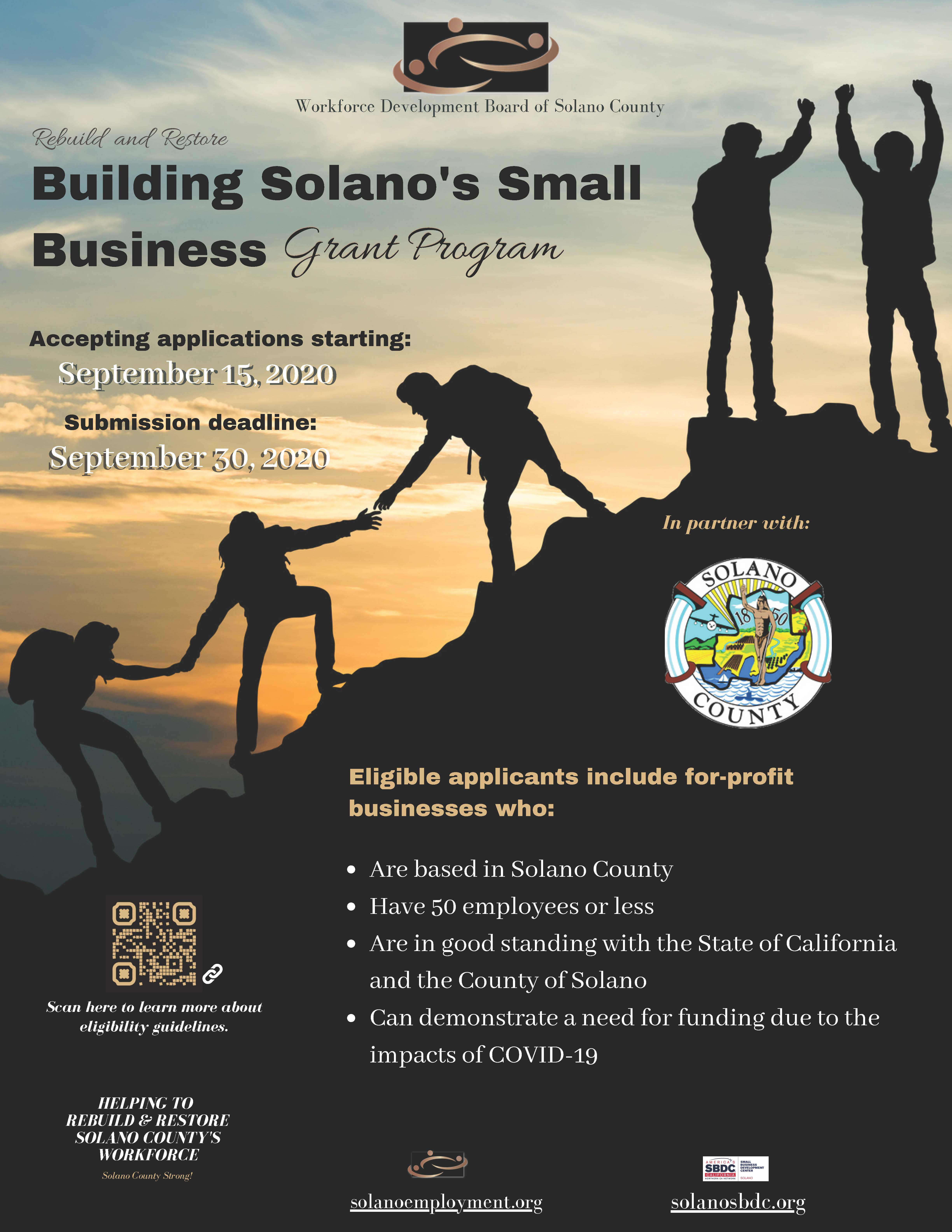 Building Solano's Small Businesses Grant Program blog featured image