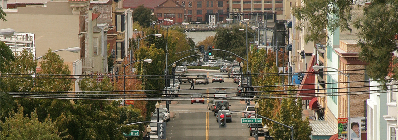 View of Downtown Vallejo